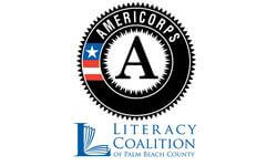 Literacy AmeriCorps Palm Beach County's logo