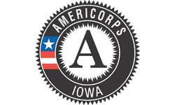 Iowa Commission on Volunteer Service's logo