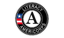 AmeriCorps- Monterey County United for Literacy's logo
