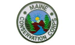 Maine Conservation Corps logo