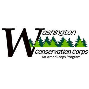 Washington Conservation Corps's logo