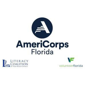 Literacy AmeriCorps Palm Beach County's logo
