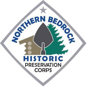 Northern Bedrock Historic Preservation Corps's logo