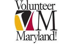 Volunteer Maryland's logo